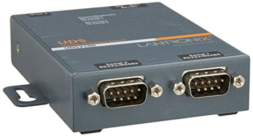 UD2100002-01 Device Server 2PRT 10/100 RS232/422/485 Intl Ps by Lantronix