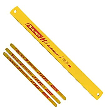 Starrett rs1410 6 redstripe solid high speed steel power hacksaw starrett rs1410 6 redstripe solid high speed steel power hacksaw blade 0062quot thick greentooth Choice Image
