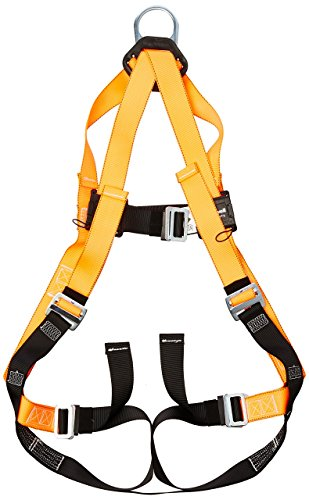 Titan ll Non-Stretch Full Body Safety Harness with Mating Buckle Chest & Leg Straps, Universal Size-Large/XL, 400 lb. Capacity (T4000/UAK) by Honeywell