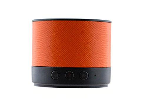 Écoutecc Lente Ultra-portable Light Weight Bluetooth 4.0 Speaker with High Definition Sound for iPhonec iPadc Samsungc Nexusc HTCc Nokiac LG and More - Pumpkin