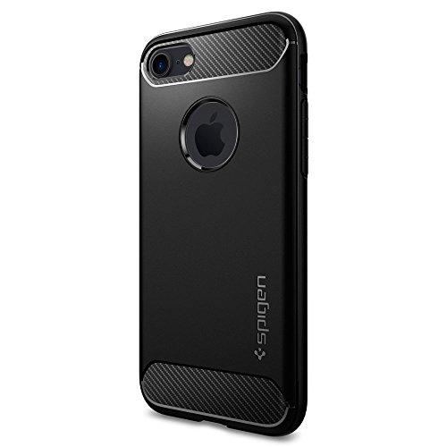 【Spigen】 iPhone7ケース, ラギッド・アーマー [ 米軍MIL...