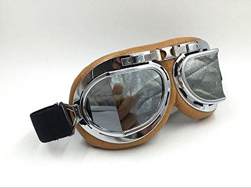 Leather Aviator Goggles - 2