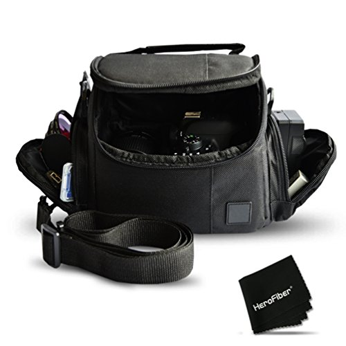 well-padded-fitted-medium-dslr-camera-case-bag-w-zippered-pockets-and-accessory-compartments-for-can