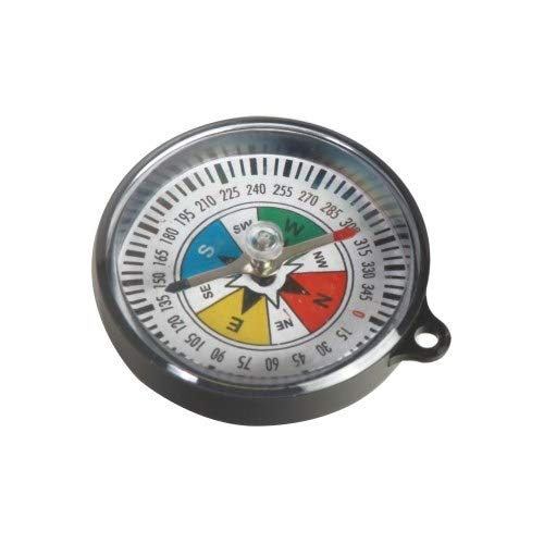 American Educational Products 7-313-3, 55mm Diameter Plastic Compass, Pack of 500 pcs by American Educational Products (Image #1)