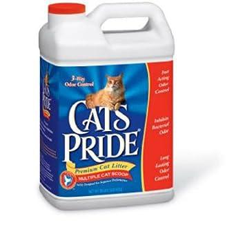 Cats Pride - Jarra de arena para gatos con múltiples tapas