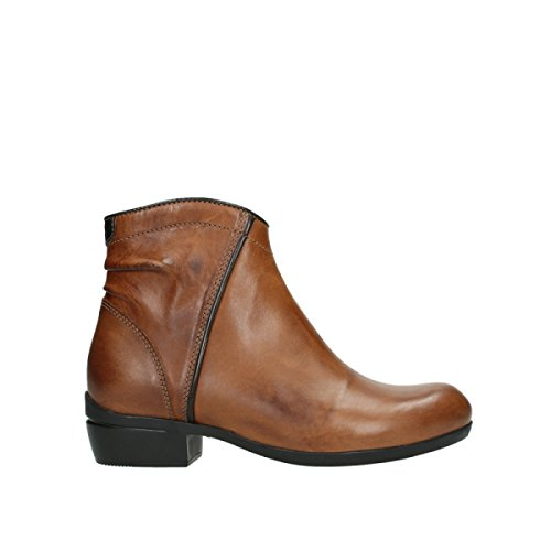 Wolky Comfort Boots Winchester WP - 30430 Cognac Leather - 40