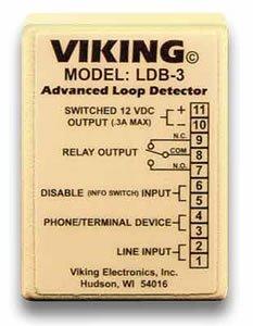 New Viking Electronics Loop And Ring Detector Board Wall Mountable AC/DC Power Adapter Phones - Ldb 3 Loop