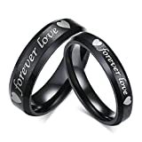 Best Aooaz Friends Unisex Rings - Aooaz Jewelry Engagement Ring for Men 4Mm/6Mm Heart Review