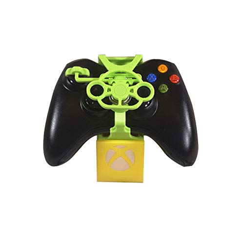 (XBERSTAR Racing Driving Games Add-on Mini Steering Wheel for Xbox 360 Controller/Pad)