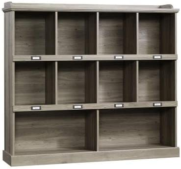 Barrister Lane Collection 3-Shelf Horizontal Bookcase in Salt Oak