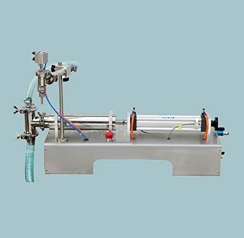 Pneumatic Liquid Filling Machine 100ml-1000ml Volume, Lolicute Semi-Automatic Liquid Filler Single Nozzles for Shampoo, Oil, Water, Perfume 110V by Lolicute (Image #2)