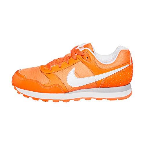 Nike - MD Runner GG - 629814810 - Couleur: Blanc-Orange - Pointure: 36.0
