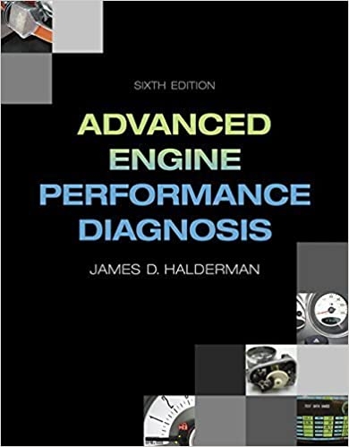 Book Advanced Engine Performance Diagnosis (6th Edition) (Automotive Systems Books) 6th edition by Halderman, James D. (2015)