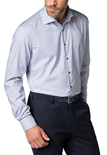 ETERNA long sleeve Shirt MODERN FIT Fancy weave structured