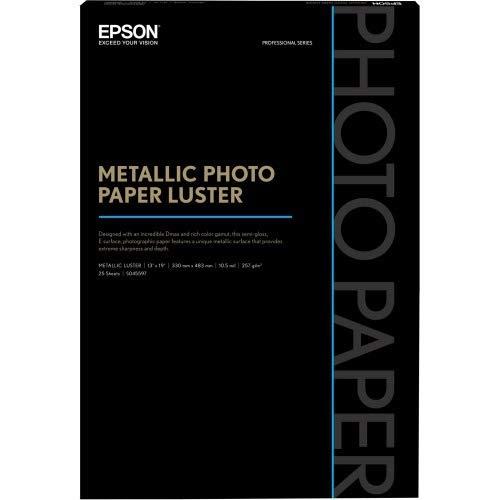 Epson 13 x 19 Metallic Photo Paper Luster (25 Sheets)