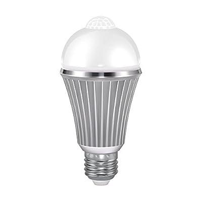 VINTAR Motion Sensor LED Light Bulb, 12W Dusk to Dawn Light Motion Sensor Smart Bulb, E26 Base Warm White Light Bulbs, Indoor & Outdoor.