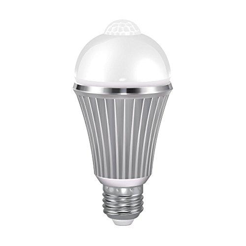 VINTAR Motion Sensor LED Light Bulb, 12W Dusk to Dawn Light Motion Sensor Smart Bulb, E26 Base Warm White Light Bulbs, Indoor & Outdoor. Review