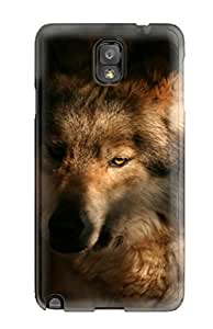 Galaxy Note 3 Cover Case - Eco-friendly Packaging(wolf)