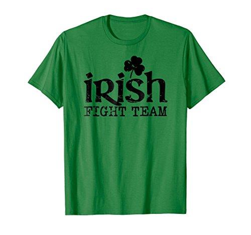Irish Fight Team green & black shamrock mma training t-shirt - Mma Fight Team