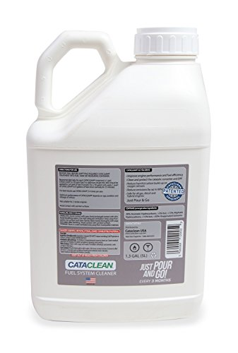 Mr Gasket 120009 Cataclean Fuel And Exhaust System Cleaner 5 L. Bottle For Truck/Fleet/Industrial Use Safe for Gasoline/Diesel/Hybrid Vehicles Cataclean Fuel And Exhaust System Cleaner