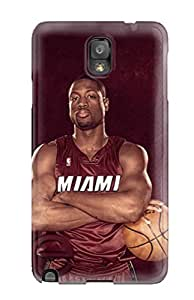 Best 9748414K136968382 basketball nba dwyane wade NBA Sports & Colleges colorful Note 3 cases