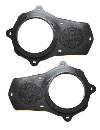 amazon com: front door aftermarket speaker installation adapter plates  compatible with chevrolet corvette c5 1997 1998 1999 2000 2001 2002 2003  2004: