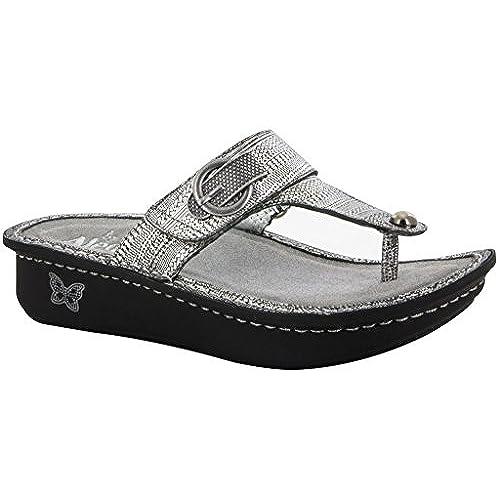 Alegria Women's Carina Chain Mail Sandal Size 39 M EU / 9-9.5 B(M) US