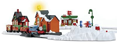 Thomas The Train Trackmaster Thomas Christmas Delivery by Fisher-Price