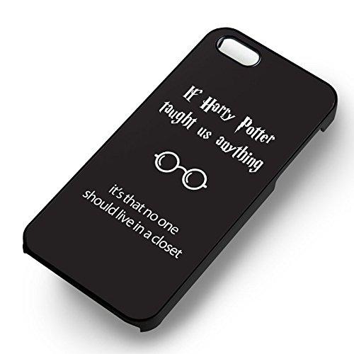 Funny Harry Potter Quotes pour Coque Iphone 6 et Coque Iphone 6s Case (Noir Boîtier en plastique dur) G3E8VE