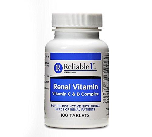 Reliable 1 Renal Vitamin C & B Complex (1 Bottle)