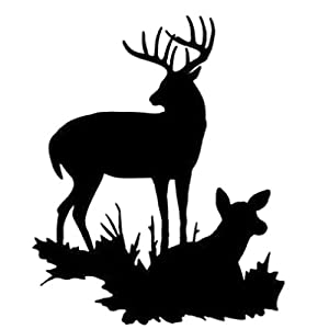 Amazon Com Buck And Doe Stencil Made From 4 Ply Matboard