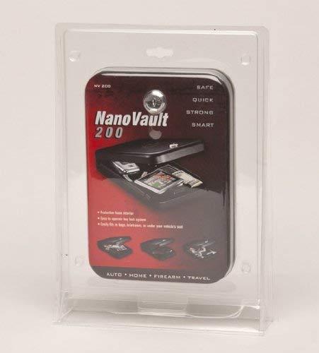 GunVault Nanovault 200 Nano Pistol Safe NV200 (Pack of 1)