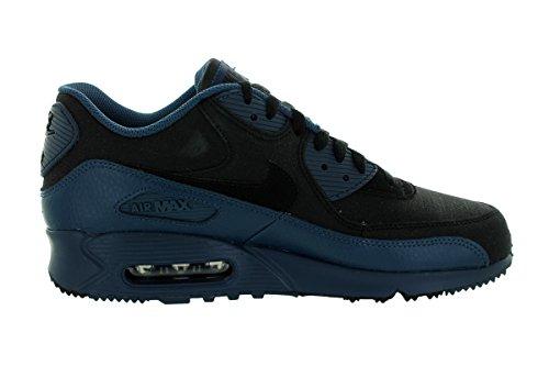 Nike Air Max 90 Winter Prm, Zapatillas de Running para Hombre Azul / Negro (Squadron Blue / Black)