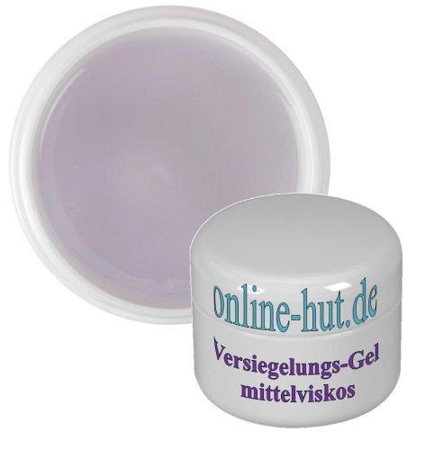 online-hut 15ml Finish Gel / Versiegelungsgel mittelviskos, transparent