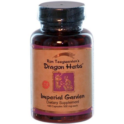Dragon Herbs Imperial Garden 100 Capsules  500 Mg