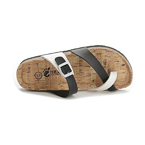 Xiamuo Verano Outlet Zapatillas Corcho Mujer Para Coreanas De gy7f6b