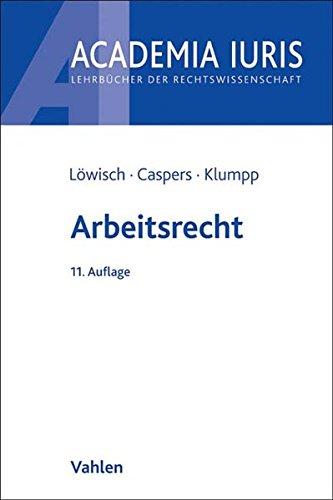 Arbeitsrecht : ein Studienbuch