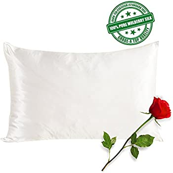 Amazon Com Silkslip 100 Pure Mulberry Silk Pillowcase