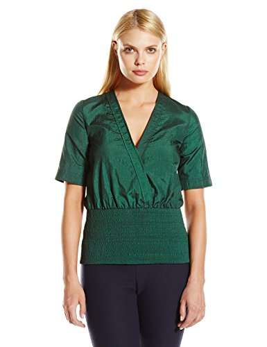 CG-Chris-Gelinas-Womens-Cross-Front-Embroidered-Top