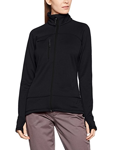 Mammut Aconcagua Light Fleece Jacket - Women's Black Melange, S