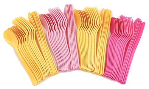 Pink Lemonade Birthday Party (Pink Lemonade Citrus Party Plastic Cutlery 24)