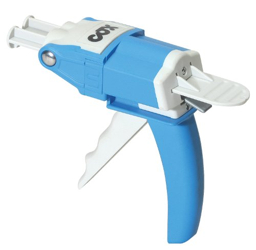 Manual Applicator - COX MP25 50 ml. Twin Mini-Cartridges 1:1, 2:1, 4:1 & 10:1 Mix Ratios Manual Epoxy Applicator