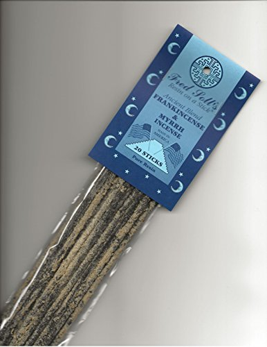 Fred Soll's Frankincense & Myrrh, Ancient Blend Incense, 20 Sticks