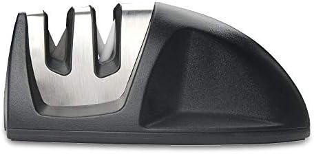 1個包丁研ぎ器 シャープナー ダイアモンドコーティング 2段階シャープニングシステムぐ 切れ味向上 キッチン 台所 調理 はさみ研ぎ