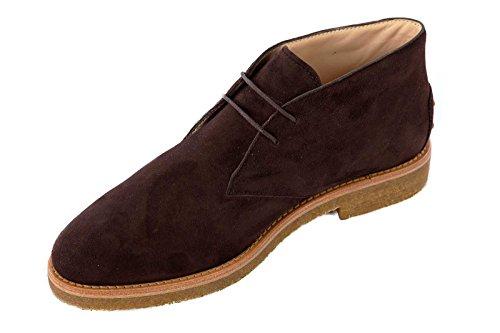 Tod's bottines demi-bottes femme en daim marron