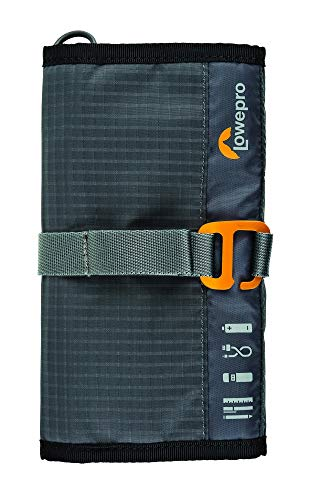 Lowepro GearUp Wrap: Compact Travel Organizer for Phone Cables, Adapters, USB Memory Sticks and Small Devices