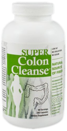 Health Plus Super Colon Cleanse, Capsules Laxative, 240 Count