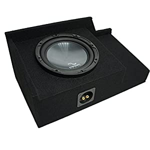 6. Harmony R124 Single 12 Sub Box Enclosure 1999-2006 Silverado & Sierra
