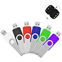 HKUU 6PCS 16GB Memory Sticks USB 2.0 Flash Drive Thumb...