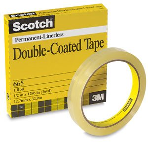 665 Double Coated Tape - 1